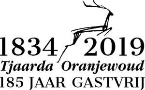 Logo 185 jaar Tjaarda Oranjewoud