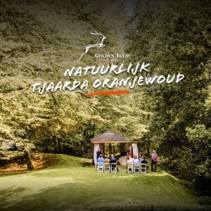 Trouwen in het bos Tjaarda Oranjewoud
