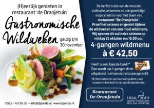 Wildweken in het restaurant