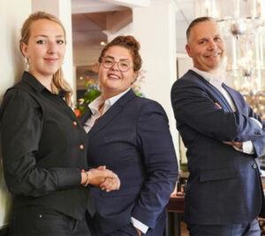 Team restaurant 'de Oranjetuin'